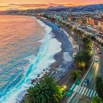 nizza sunset